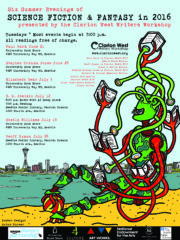 2016 Summer Reading Series poster