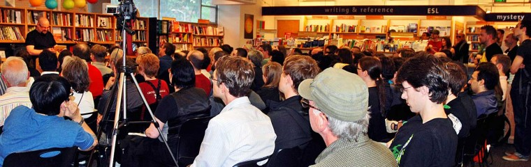 Charles Stross reads at University Book Store.