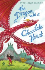 cover art for The Dragon with a Chocolate Heart by Stephanie Burgis