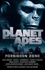 Cover art for PLANET OF THE APES: TALES FROM THE FORBIDDEN ZONE  by Greg Cox