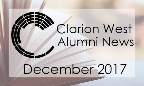 CW Alumni News, December 2017