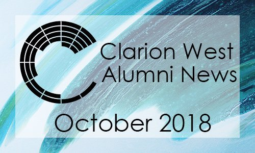 Clarion West Alumni News - October 2018
