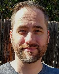 An image of the writer Brian K. Hudson